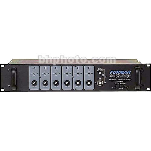 Furman ASD-120 AC Sequenced Power Distribution ASD-120