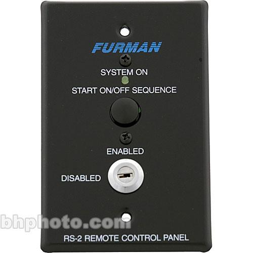 Furman  RS-2 Remote Control Panel RS-2