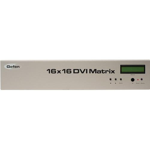 Gefen EXT-DVI-16416 16x16 DVI Crosspoint Matrix EXT-DVI-16416
