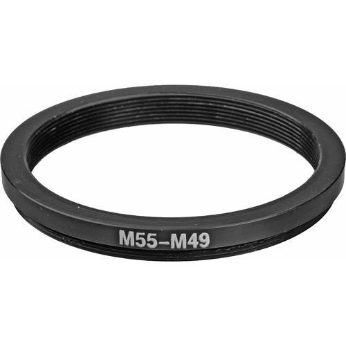 General Brand 55mm-49mm Step-Down Ring (Lens to Filter) 55-49