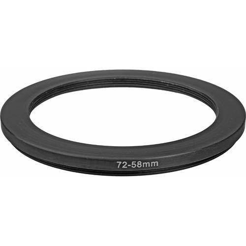 General Brand 72mm-58mm Step-Down Ring (Lens to Filter) 72-58