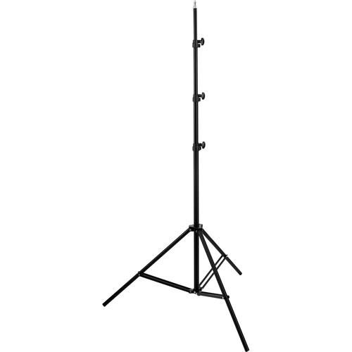 General Brand Air-Cushioned Light Stand (Black,10') LS-10AB