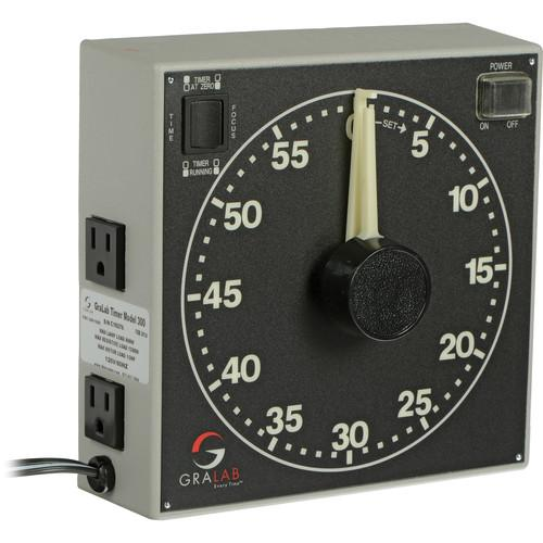 GraLab Model 300 Electro-Mechanical Darkroom Timer GR300