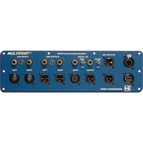 Henry Engineering MultiPort Multi-Format Audio Interface Panel
