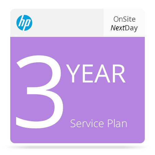 HP 3-Year Next Business Day Onsite Support UF035E