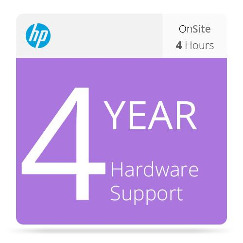 HP 4-Year 4-Hour Response 13x5 Onsite Support UF042E