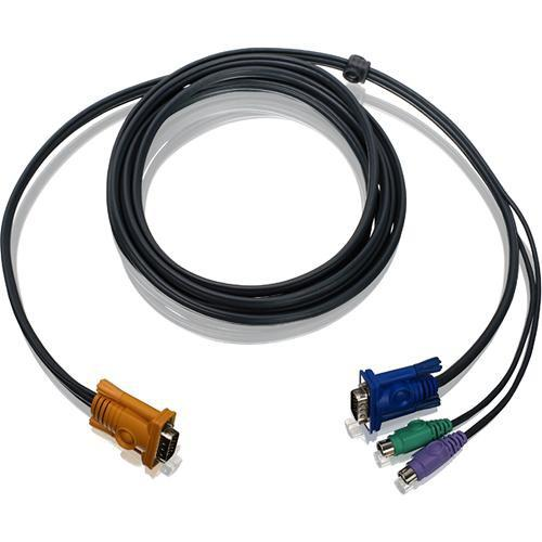 IOGEAR  6' (1.8 m) PS/2 KVM Cable G2L5202P