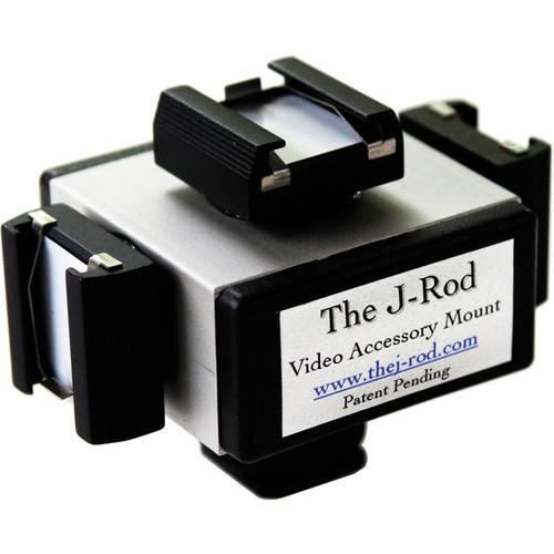 J-Rod The J-Cube Accessory Shoe Adapter & Mic THE J-CUBE