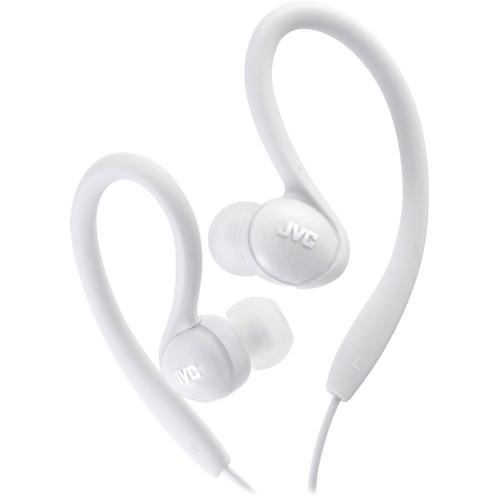 JVC HA-EBX85 In-Ear Sport Clip Headphones (White) HA-EBX85-W