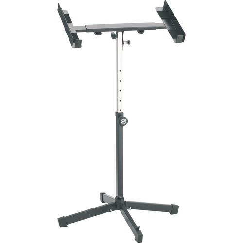 K&M 28075 Heavy-Duty Amplifier/Mixer Stand (Black) 28075-000-55