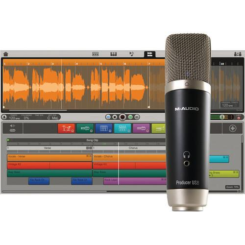 M-Audio Vocal Studio - USB Microphone Personal 8250-30006-01