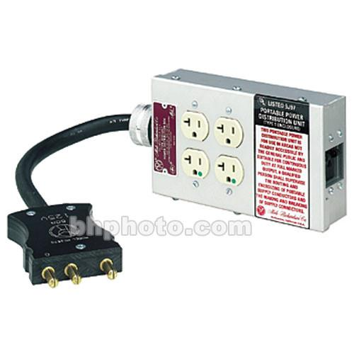 Mole-Richardson  60 Amp 4 Receptacle Box 5001467