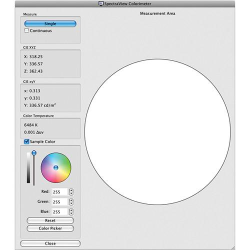 NEC SpectraView II Display Calibration Software SVIISOFT