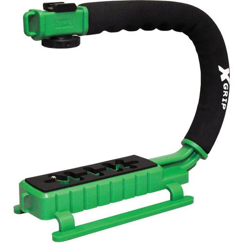 Opteka X-Grip Pro Video Stabilizing Handle (Green) XGRIPG