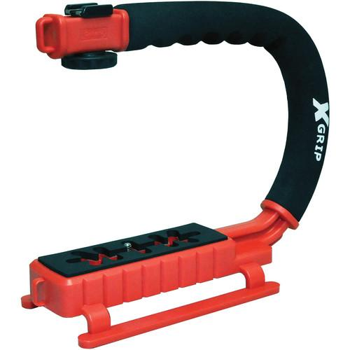 Opteka X-Grip Pro Video Stabilizing Handle (Red) XGRIPR