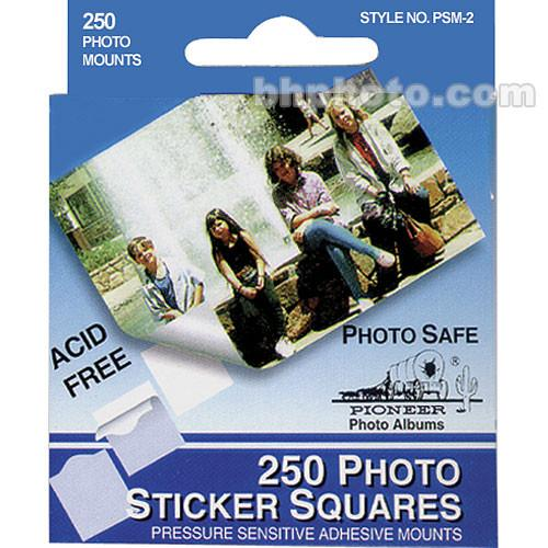 Pioneer Photo Albums Photo Mounting Squares (Box of 250) PSM2