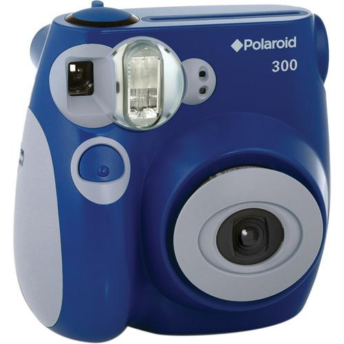 Polaroid 300 Instant Film Camera (Blue) PLDPIC300L