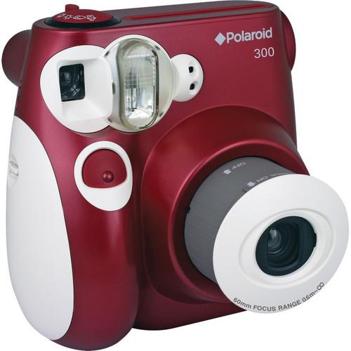Polaroid 300 Instant Film Camera (Red) PLDPIC300R