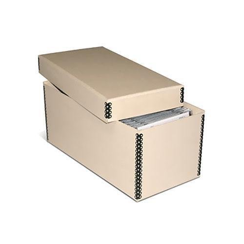 Print File MECD55TAN Tan Metal Edge CD/DVD Storage Box 213-1010
