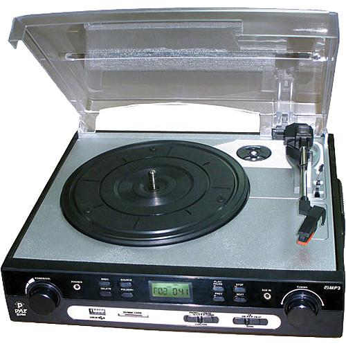 Pyle Pro PLTTB9U USB Turntable with USB/SD Card Encoder PLTTB9U