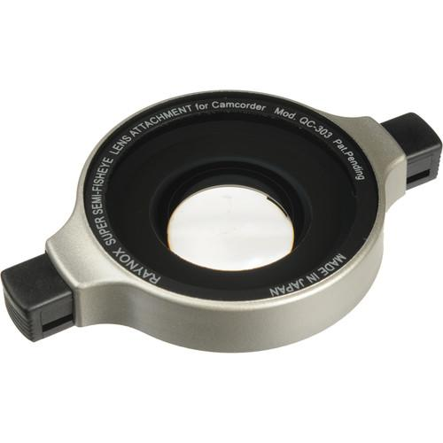 Raynox QC-303 0.3x Semi Fisheye Snap-On Lens QC-303