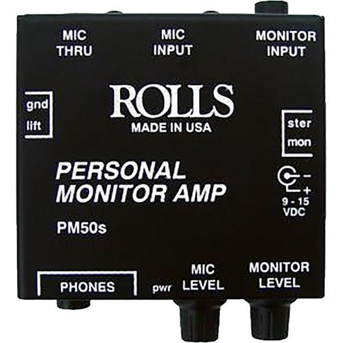 Rolls  PM50s - Personal Monitor Amplifier PM50S