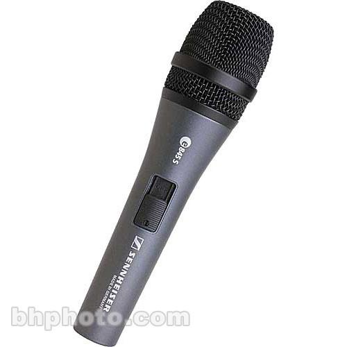 Sennheiser  E845S - Vocal Mic with Switch E845-S