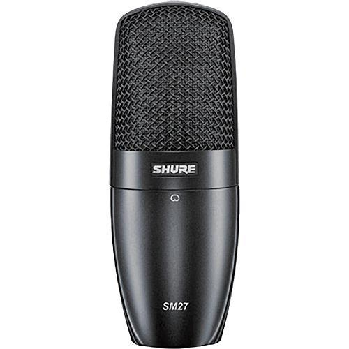 Shure SM27 Large Diaphragm Cardioid Condenser Microphone SM27-SC