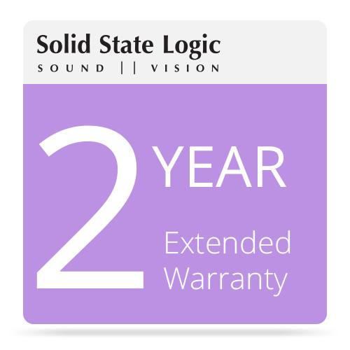 Solid State Logic 2-Year Extended Warranty 82S6SP060AX2