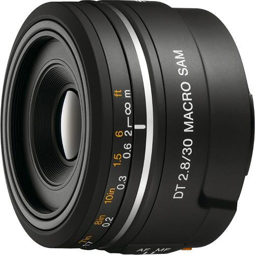 Sony 30mm f/2.8 DT Alpha A-Mount Macro Prime Lens SAL30M28