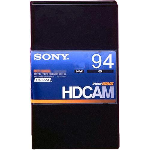 Sony BCT-94HDL HDCAM Videocassette, Large BCT94HDL