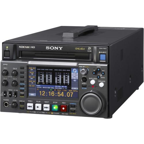 Sony PDW-F1600 XDCAM HD Player/Recorder PDW-F1600