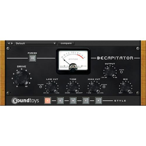 SoundToys Decapitator - Analog Saturation Modeler DECAPITATORNT