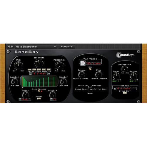 SoundToys EchoBoy - Vintage Delay Plug-In (Native) ECHOBOYNT