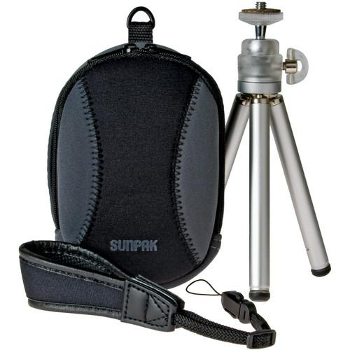 Sunpak  Digital Point and Shoot Kit 620-PSKITBB