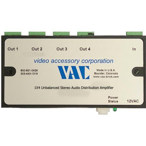 Vac 16-121-504 Unbalanced Stereo Audio Distribution 16-121-504