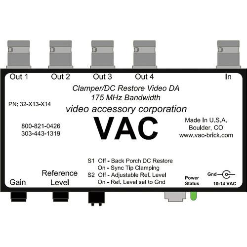 Vac 32-113-114 Composite Video Distribution Amplifier 32-113-114