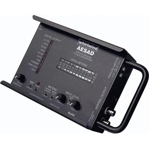 Whirlwind AESAD - Portable Analog To AES Converter AESAD