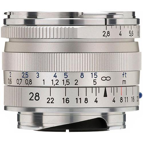 Zeiss  28mm f/2.8 ZM Lens - Silver 1365-655