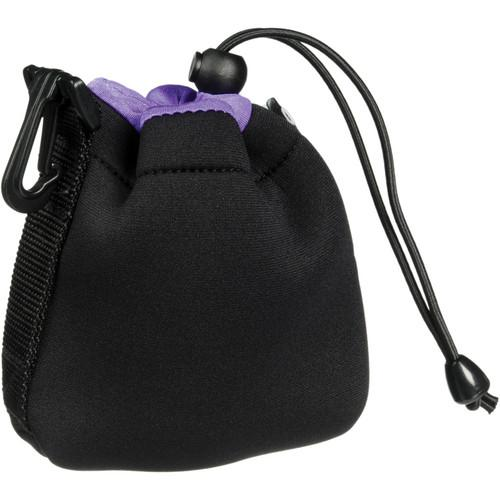 Zing Designs SPB1 Small Drawstring Pouch (Black/Purple) 560-106