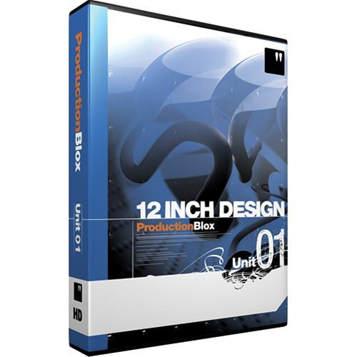 12 Inch Design ProductionBlox HD Unit 01 - DVD 01PRO-HD