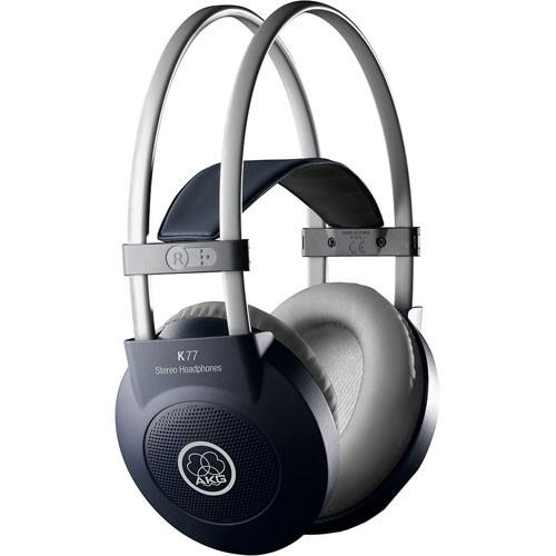 AKG K 77 Circumaural Closed-Back Stereo Headphones 6000 H 09210