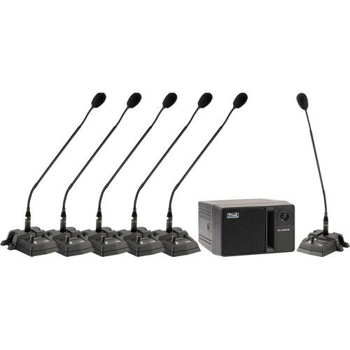 Anchor Audio Councilman CM-6 Conference Microphone Package CM-6