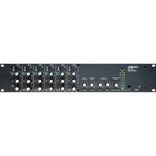 Ashly MX406 Six Channel Stereo Microphone Mixer MX-406