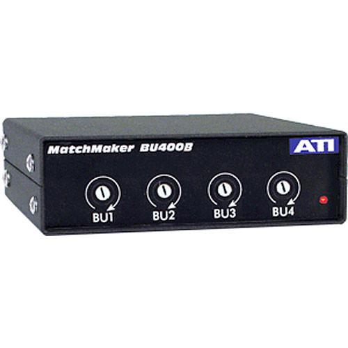 ATI Audio Inc BU-400B - 4-Channel Uni-directional Level BU400B