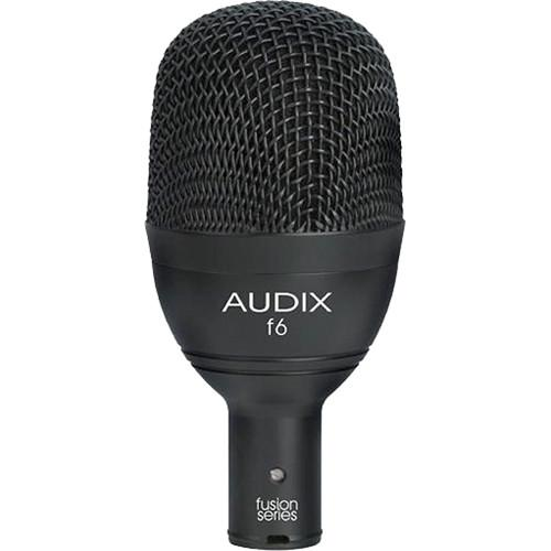 Audix f6 Fusion Series Hypercardioid Low-Frequency Instrument F6