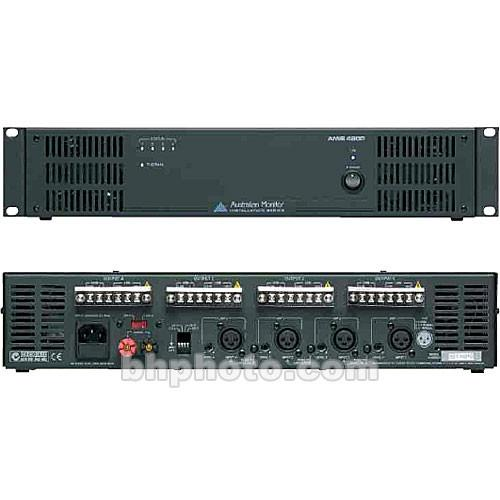 Australian Monitor AMIS480P 4 Channel Power Amplifier AMIS480P