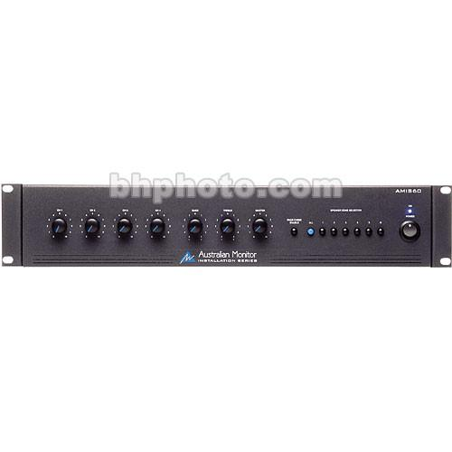 Australian Monitor AMIS60 60 Watt 4-Channel Mixer AMIS60
