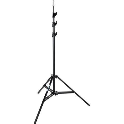 Avenger Baby Steel Stand 40 with Leveling Leg (Black, 13')
