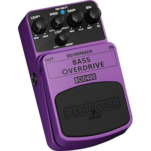 Behringer BOD400 Bass Overdrive Stompbox Effect Pedal BOD400